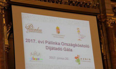 2017 Pálinka Országkóstoló Díjátadó Gála